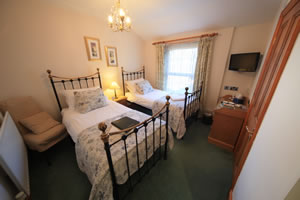 Twin en suite B&B accommodation in Keswick. An ideal base for your stay.
